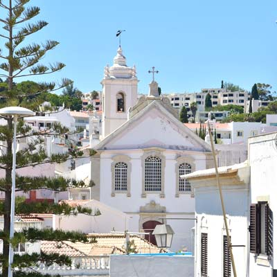 Albufeira history church