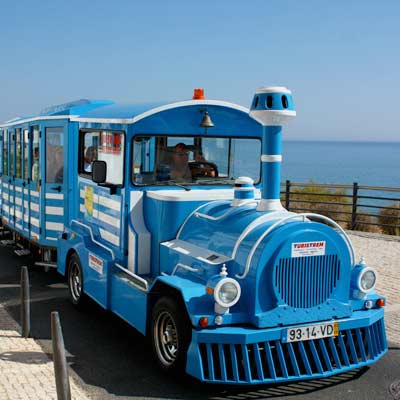 Albufeira mini noddy train
