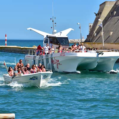 boat tours from Albufeira marina