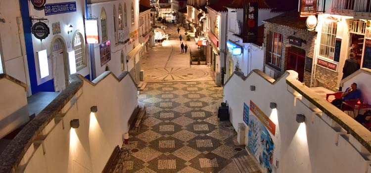 bars and restaurants of Albufeira