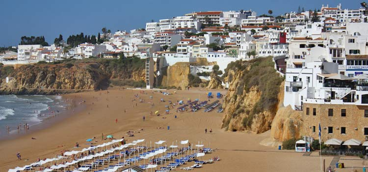 Albufeira the algarve