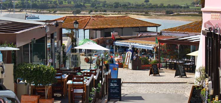 restaurants and bars of Alvor