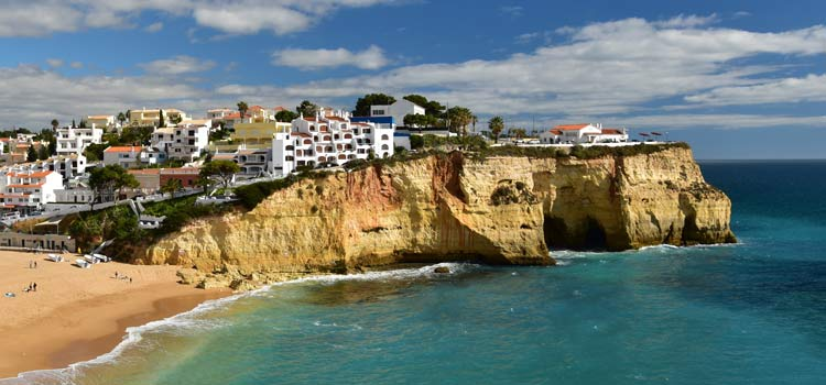 fort Carvoeiro cliffs