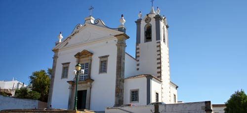 The Matriz de Estoi church