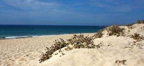 Praia de Faro Beach Algarve Portugal