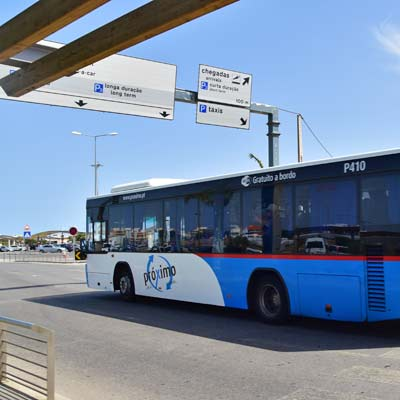Faro Airport to Faro City, Bus and Train Station