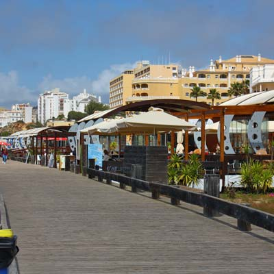Praia da Rocha restaurants, cafes and bars