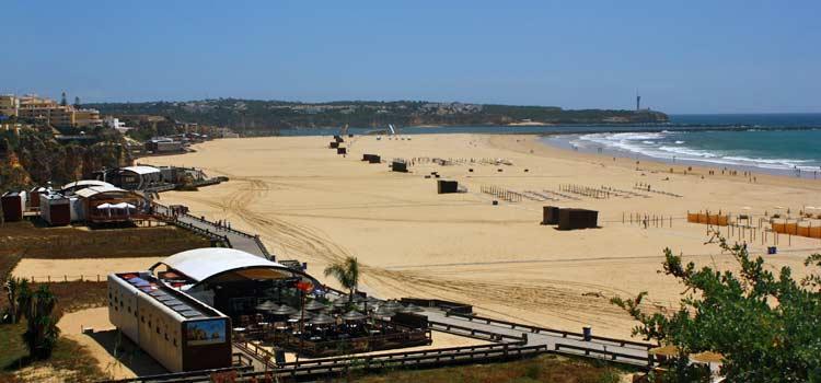 The Main Beach Of Praia Da Rocha