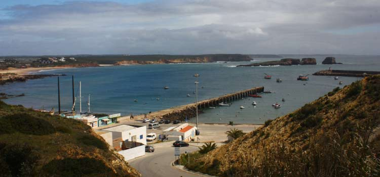fishing harbour of Sagres portugal