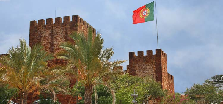 castle silves portugal
