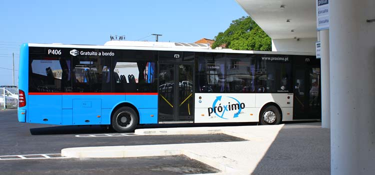 The bus to the airport