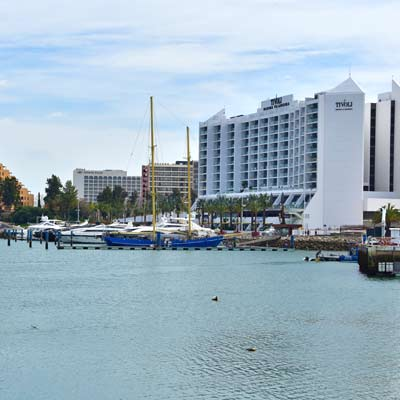marina of Vilamoura